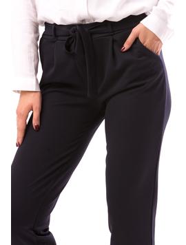Pantaloni Dama InterruptedPlan Bleumarin-2
