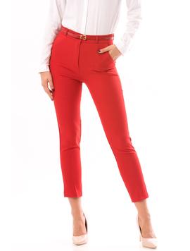 Pantaloni Dama HighStyle Rosu