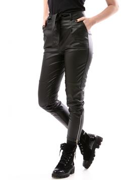 Pantaloni Dama AnkleZipper Negru