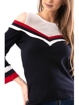 Pulover Dama Undershirt Negru-2