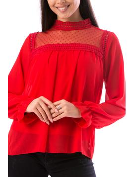 Bluza Dama Grig667 Rosu-2