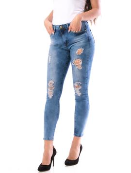 Jeans Dama MarvySix15 Bleumarin