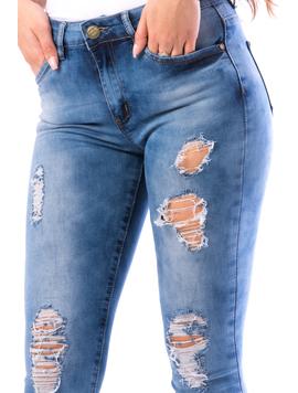 Jeans Dama MarvySix15 Bleumarin-2