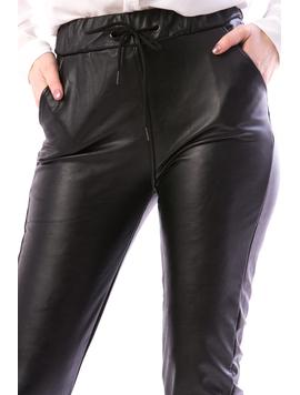 Pantaloni Dama Imblaniti Pe Interior InsyTry12 Negru-2