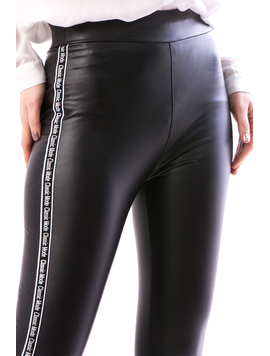 Pantaloni Dama Blaniti Pe Interior FryTry12 Negru-2