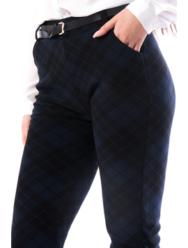 Pantaloni Dama Besdya67 Bleumarin-2