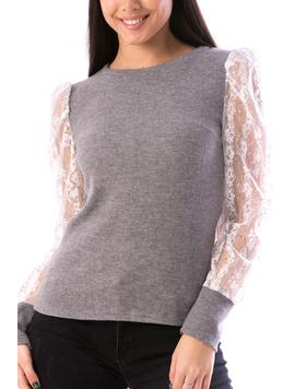 Bluza Dama ElegantSleeve Gri-2