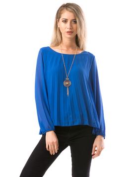 Bluza Dama JeaquelineRe Albastru
