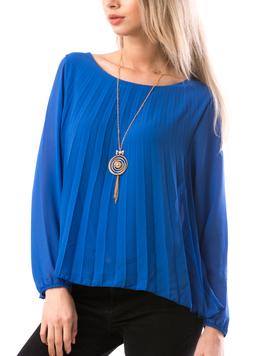 Bluza Dama JeaquelineRe Albastru-2