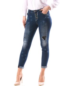 Jeans Dama VerbuJys Bleumarin