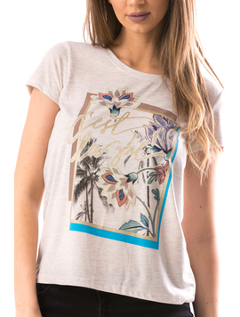 Tricou Dama CelliVie Bej-2