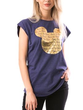 Tricou Dama GoldMickey Negru Gold-2