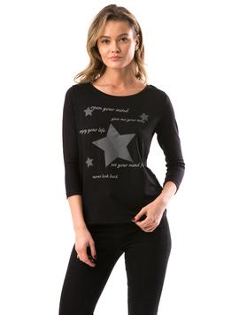 Bluza Dama Stars&Star Negru