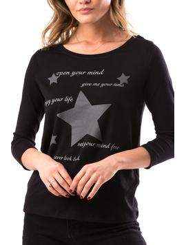 Bluza Dama Stars&Star Negru-2