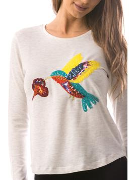 Bluza Dama BirdFly Alb-2