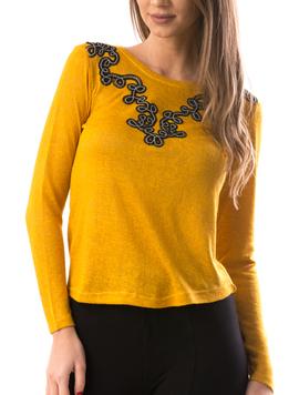 Bluza Dama ChestFit Mustar-2