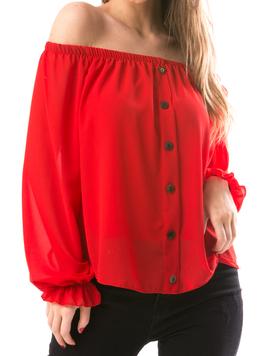 Bluza Dama UpColor Rosu-2
