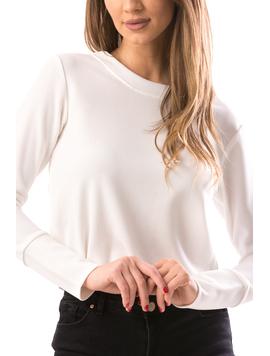 Bluza Dama WhiteLong Alb-2
