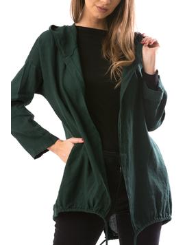 Cardigan Dama FreeStay Verde-2