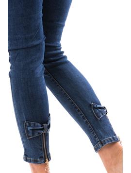 Jeans Dama SheatDown Bleumarin-2