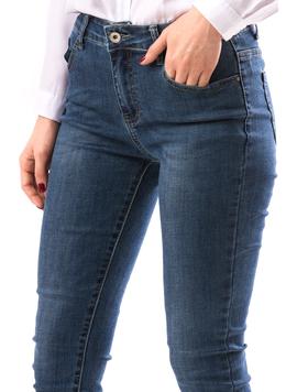 Jeans Dama BeadsDown Bleumarin-2