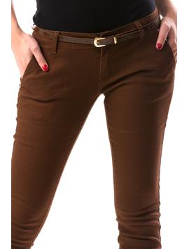 Pantaloni Dama BrownModel Maro-2