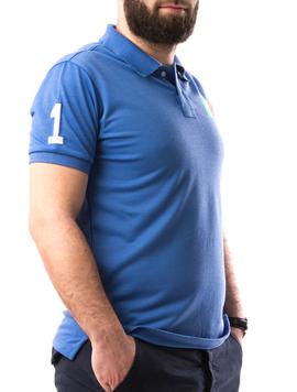 Tricou Barbatesc AlexinioOne Albastru-2