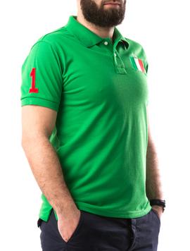 Tricou Barbatesc AlexinioOne Verde-2