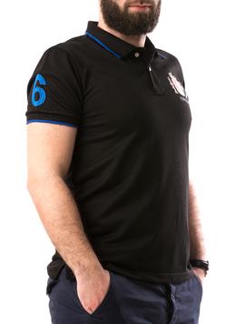 Tricou Barbatesc ElAlejandro Negru-2