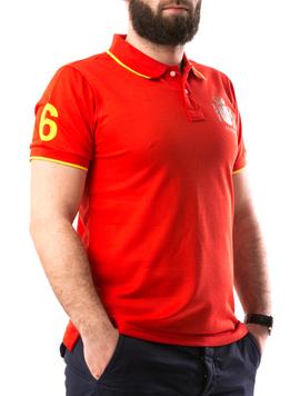 Tricou Barbatesc ElAlejandro Rosu-2