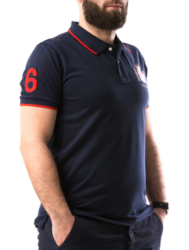 Tricou Barbatesc ElAlejandro Bleumarin-2