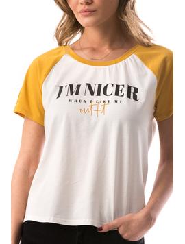 Tricou Dama ImNicer Alb-2