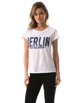 Tricou Dama BerlinTrust Alb