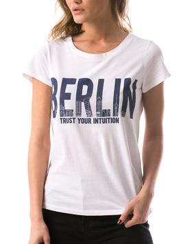 Tricou Dama BerlinTrust Alb-2