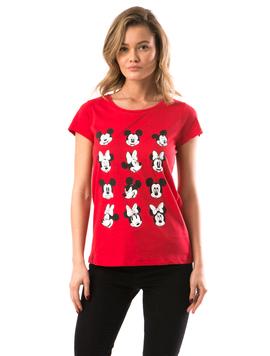 Tricou Dama MickeyMick Rosu
