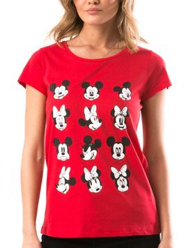 Tricou Dama MickeyMick Rosu-2