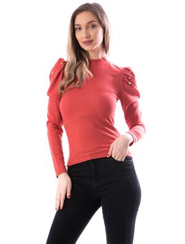 Bluza Dama Perlys100 Caramiziu