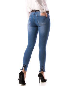 Jeans Dama FshyTyu78 Bleu