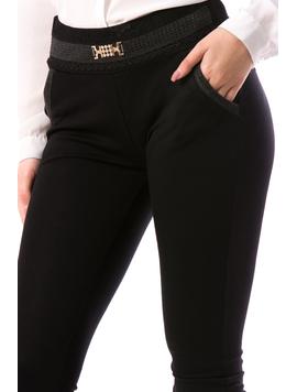 Pantaloni Dama LadyMierry19 Negru-2