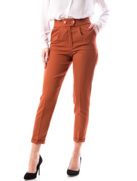 Pantaloni Dama NineOne18 Caramiziu