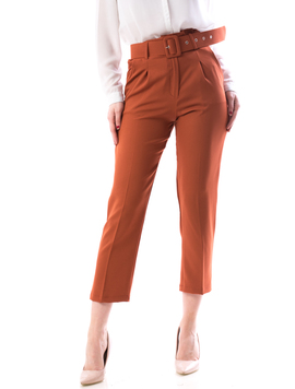 Pantaloni Dama Fengy167 Caramiziu