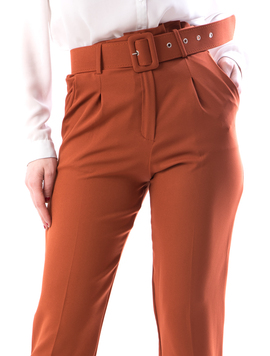 Pantaloni Dama Fengy167 Caramiziu-2