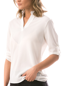 Bluza Dama LucyButton Alb-2