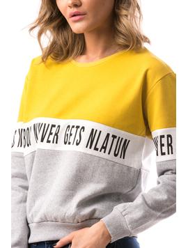 Bluza Dama MiddleBand Galben-2