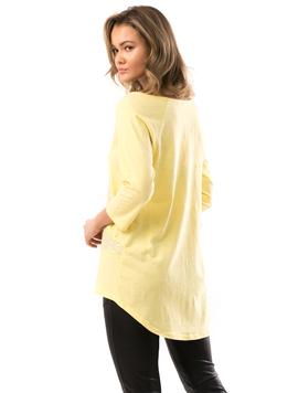 Bluza Dama Sequins Galben-2