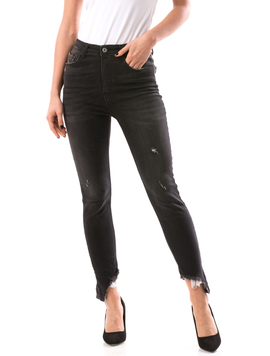 Jeans Dama JennyRipped Negru