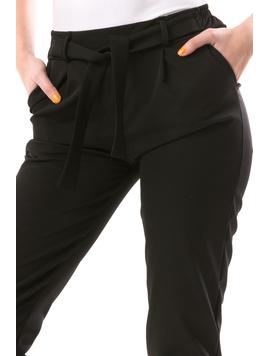 Pantaloni Dama Backto90 Negru-2