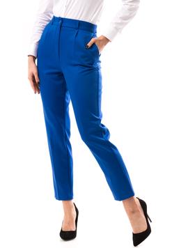 Pantaloni Dama MadalinaOffice Albastru