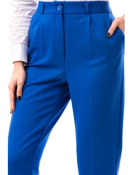 Pantaloni Dama MadalinaOffice Albastru-2