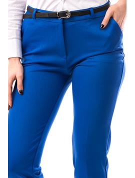 Pantaloni Dama BeltMada Albastru-2